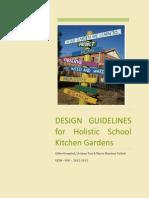 Design Guidelines for Holistic School Kitchen Garden