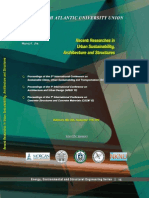 Recent Researches in Urban Sustainability, Architecture and Structures