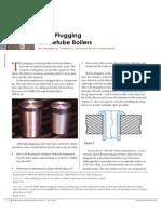 Boiler - Tube Plugging