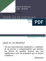 Clase Nc2b0 III Modelos de Sistemas