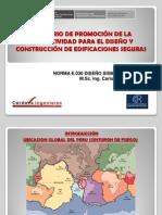 11. NORMA E.030 DISEÑO SISMORRESISTENTE Msc. Carlos Cordova