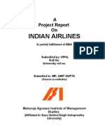 Project On Indian Airlines