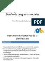 Diseño de Programas Sociales