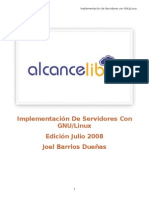 Implementacion Servidores Linux JULIO 2008a