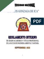 Reglamento de Grados y Titulos - FIAS