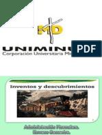 Presentación inventos y descubrimientos