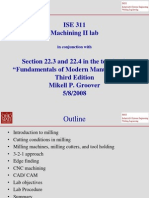 Machining 2 Lab Presentation