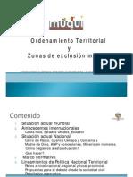 ORDENAMIENTO TERRITORIAL Y ZONAS LIBRES DE MINERÍA