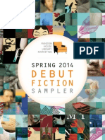 Spring 2014 Debut Fiction Sampler