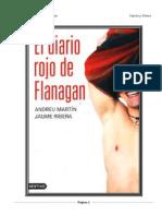 El Diario Rojo de Flanagan Andreu Martin y Jaume Ribera