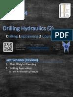 Drilling Hydraulics 2