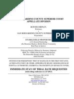 Writ Petition w Cov Toc Writ 2-27-13