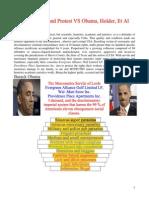 9. I Demand and Protest vs Obama, Holder, Et Al