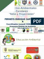 Proyectos Ambient Ales Escolares - Ferneys Carvajalino