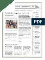 Orwas Newsletter March 2014