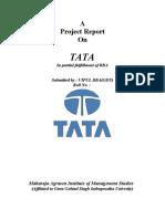 Project on Tata