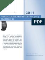 Tutorial Easy Import Control (EIC)