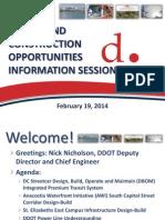 DDOT Information Session Master Presentation Feb 2014