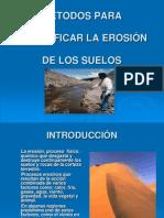 Métodos cuantif. erosión