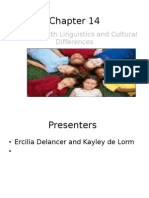 Students with Linguistics and Cultural Differences