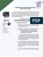 Regulamento de Acreditação da Imprensa da Queima das Fitas 2014