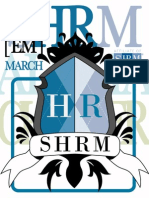 SHRM Aloha E-Magazine, Volume 1 March