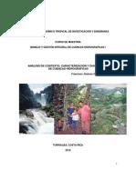 Análisis de contexto, caracterización y diagnóstico de la cuenca 2010