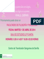 Cartel Primavera 2014
