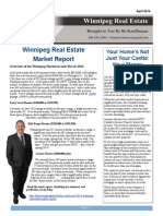 April 2014 Winnipeg Real Estate Newsletter