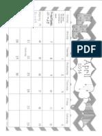 april ixl calendar