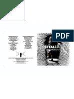 MetallicA - Charlotte, NC - CD Booklet