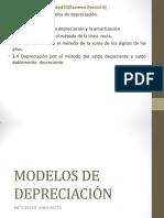 MODELOS DE DEPRECIACIÓN ING. ECONOMICA