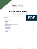 Easy Balloon Blimp
