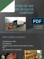 Iso 9001 in Galva