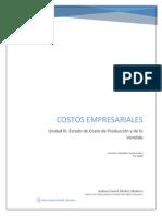 Portafolio Unidad III - Costos Empresariales