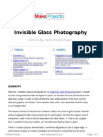 Invisible Glass Photography