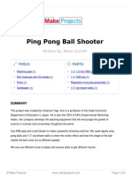 Ping Pong Ball Shooter