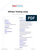 ESP Psi Testing Lamp