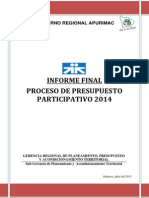 Informe Final Ppp 2014