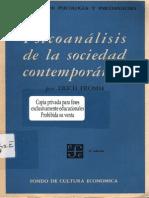 49952 Erich Fromm Psicoanalisis de La Sociedad Contemporanea