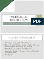 Modèles de distribution - secteur des vêtements