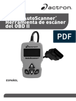 Actron Scaner Manual, CP9575 (Español)