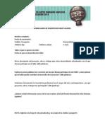 Formulario de Inscripción - Programa Educativo Mariano Aguilera