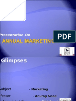 Annual Marketing Plan Small Office 2003