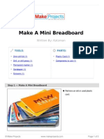 Make a Mini Breadboard