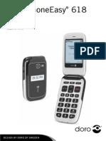 Manual Doro PhoneEasy 618