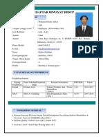 CV Muhamad Rizki Aditya
