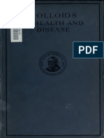 Use of Colloids in Health and Disease by Alfred B. Searl