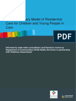 A Contemporary Model of Residential Care for Children and Young People in Care 2010