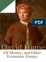 David Hume - Of Money, and Other Economic Essays.epub